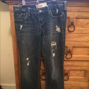 Hollister destroyed jeans size 5R